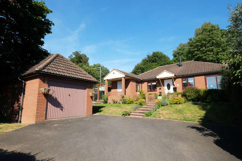 2 Bedrooms Detached Bungalow for sale in Bramblewood, Hillside Avenue, Bridgnorth, Bridgnorth, WV15
