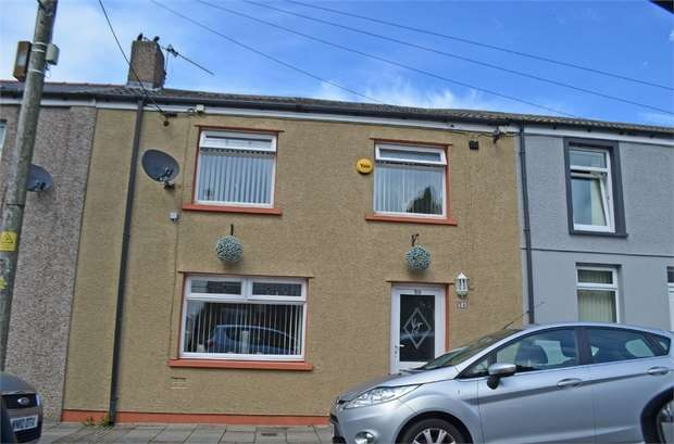 3 Bedrooms Terraced House for sale in Barrack Row, Dowlais, Merthyr Tydfil, Mid Glamorgan