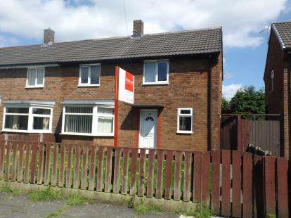 2 Bedrooms Semi Detached House for sale in Rimington Avenue, Golborne, Warrington, Greater Manchester