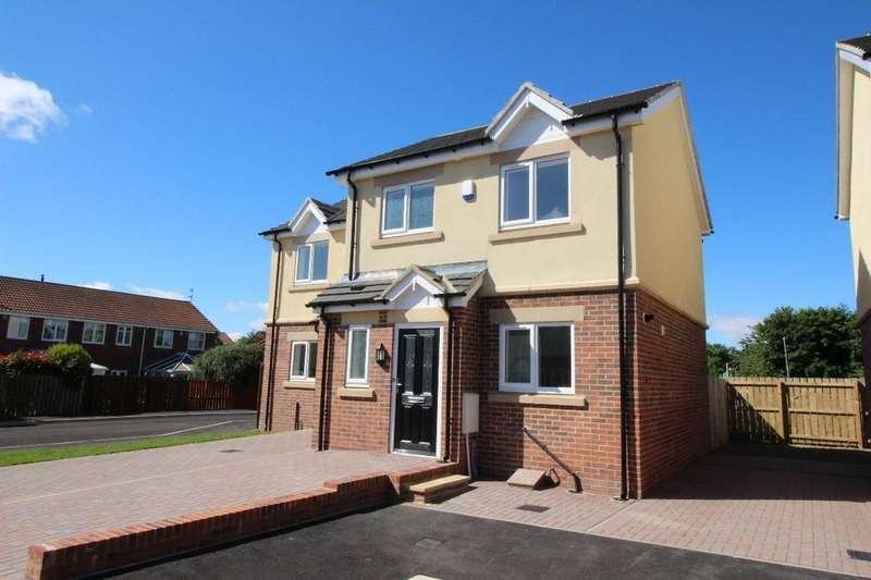 2 Bedrooms Semi Detached House for sale in Kensington Close, Seghill, Cramlington, NE23
