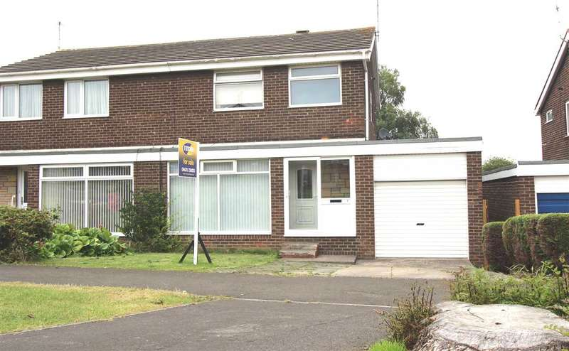 3 Bedrooms Semi Detached House for sale in Faversham Place, Parkside Dale, Cramlington