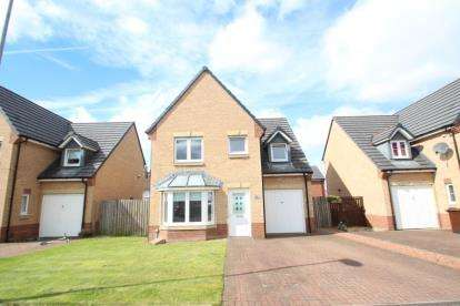 4 Bedrooms Detached House for sale in Inverlochy Road, Airdrie, North Lanarkshire