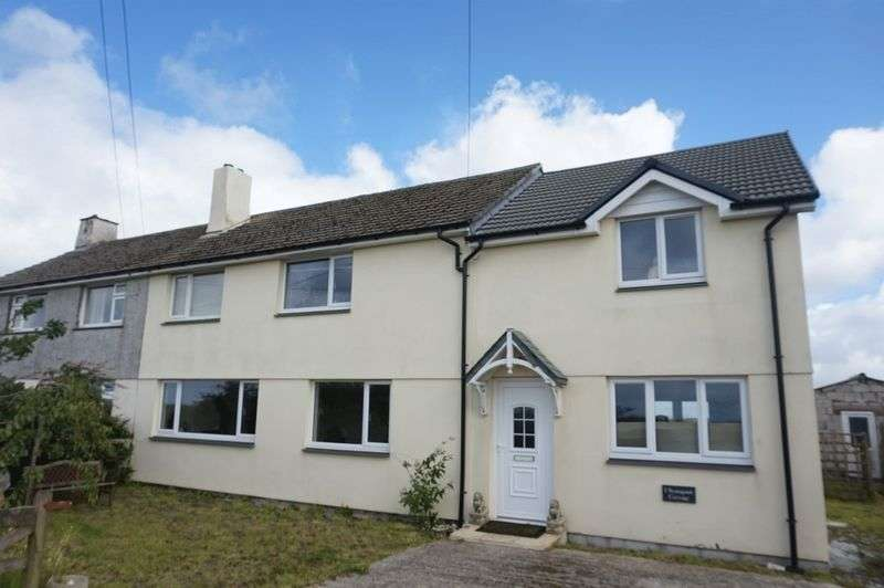 3 Bedrooms Semi Detached House for sale in Starapark, Davidstow, Camelford