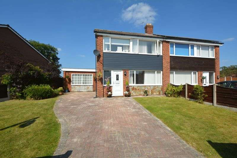 3 Bedrooms Semi Detached House for sale in Haddon Road, Heald Green, Cheadle