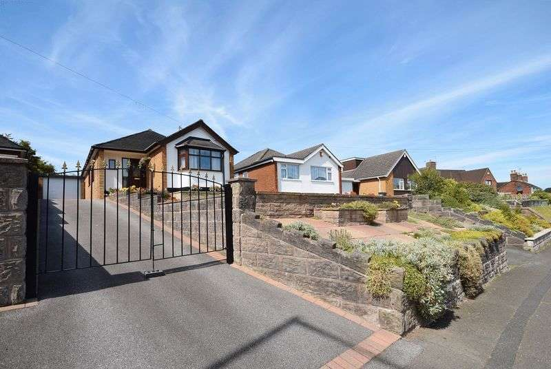 3 Bedrooms Detached Bungalow for sale in Heathcote Road, Miles Green, Bignall End
