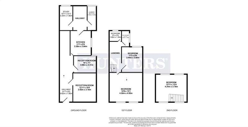 3 Bedrooms Terraced House for sale in Townsend Road, Southall, Greater London, UB1 1HD