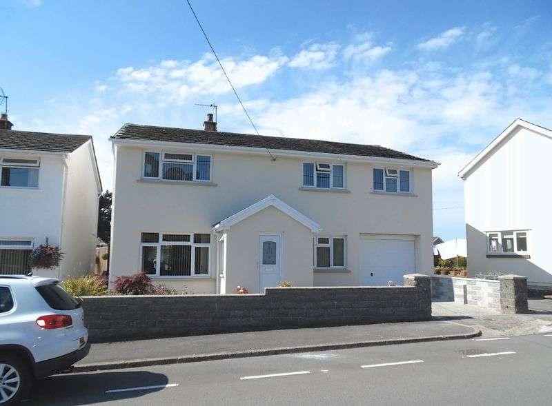 4 Bedrooms Detached House for sale in Heol West Plas Coity Bridgend CF35 6BH