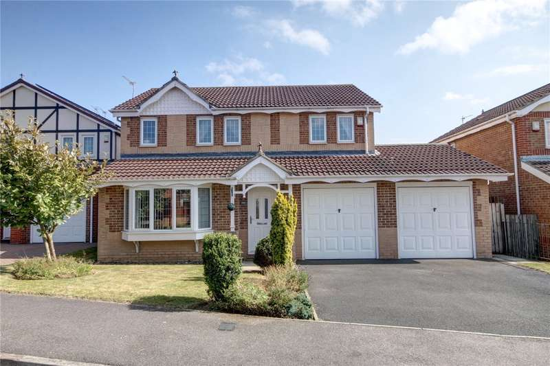 4 Bedrooms Detached House for sale in Ashbourne Drive, Coxhoe, Durham, DH6