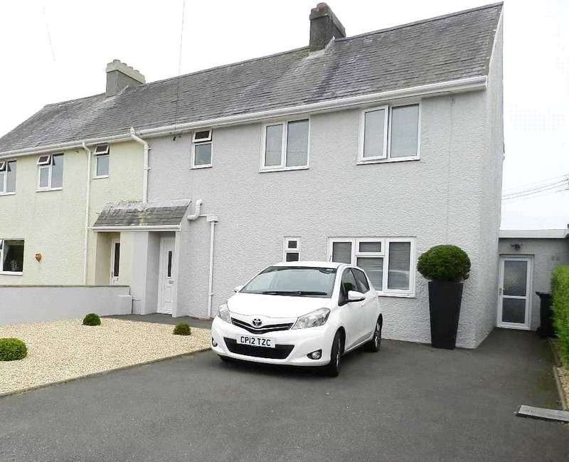 3 Bedrooms Semi Detached House for sale in Heathfield Terrace, Targate Road, Freystrop