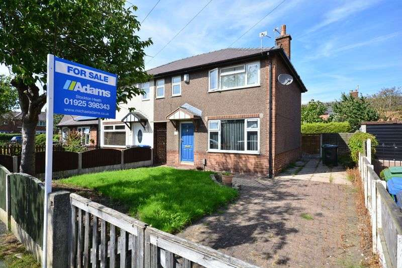 3 Bedrooms Semi Detached House for sale in Cheviot Avenue, Warrington