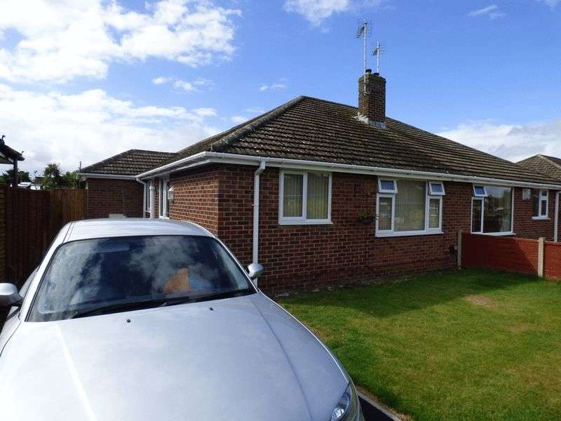 2 Bedrooms Semi Detached Bungalow for sale in Lea Road, Gloucester