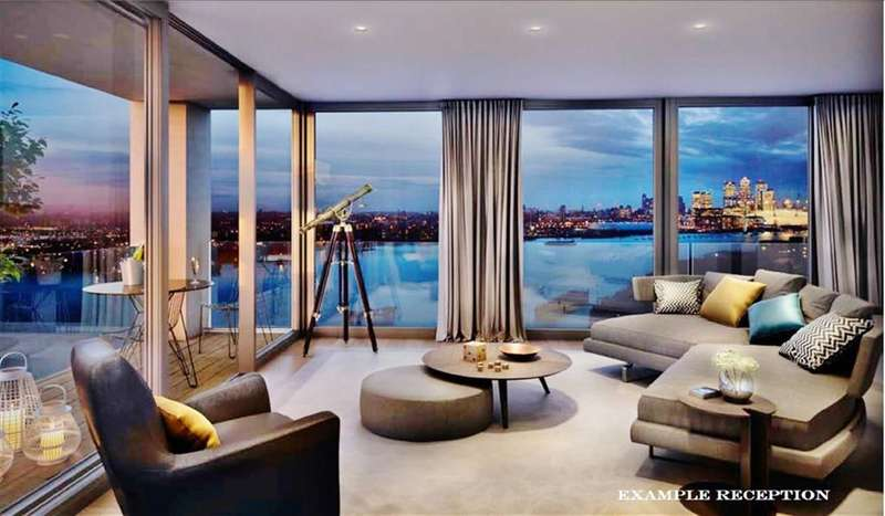 3 Bedrooms Property for sale in Latitude Building, Royal Wharf, London