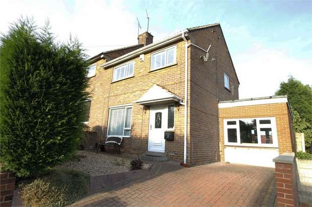 3 Bedrooms Semi Detached House for sale in Wheatcroft Road, Rawmarsh, Rotherham, South Yorkshire
