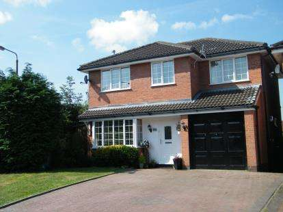 4 Bedrooms Detached House for sale in Betley Close, Leftwich, Northwich, Cheshire
