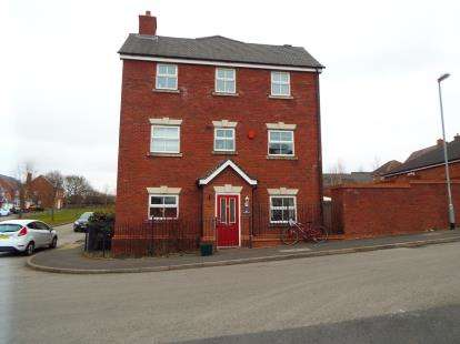 4 Bedrooms Semi Detached House for sale in Capercaillie Drive, Heath Hayes, Cannock, Staffordshire