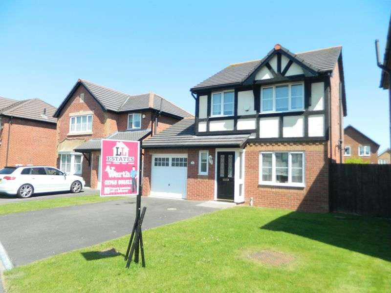3 Bedrooms Detached House for sale in Llys Vyrnwy, Kinmel Bay