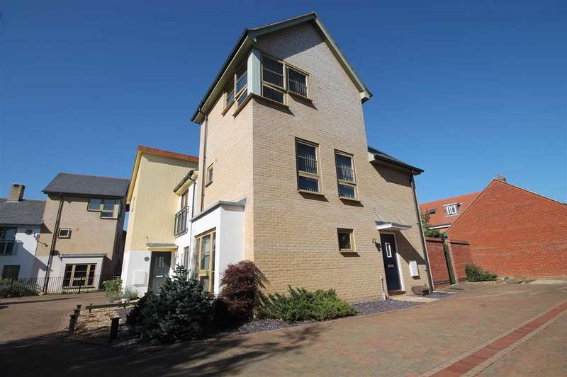 3 Bedrooms Town House for sale in Cranberry Square, Ipswich