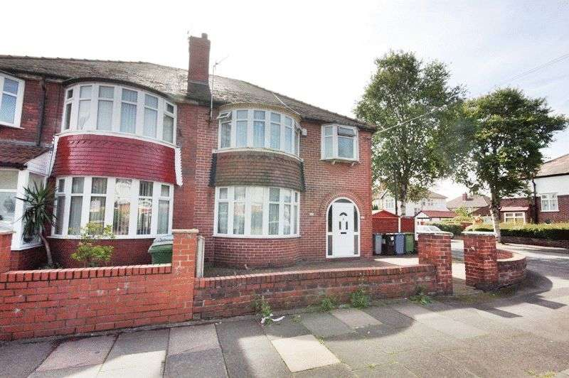3 Bedrooms Semi Detached House for sale in Kings Road, Manchester