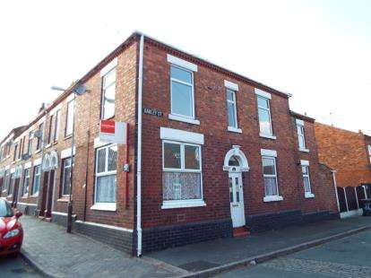 2 Bedrooms House for sale in Oakley Street, Crewe, Cheshire