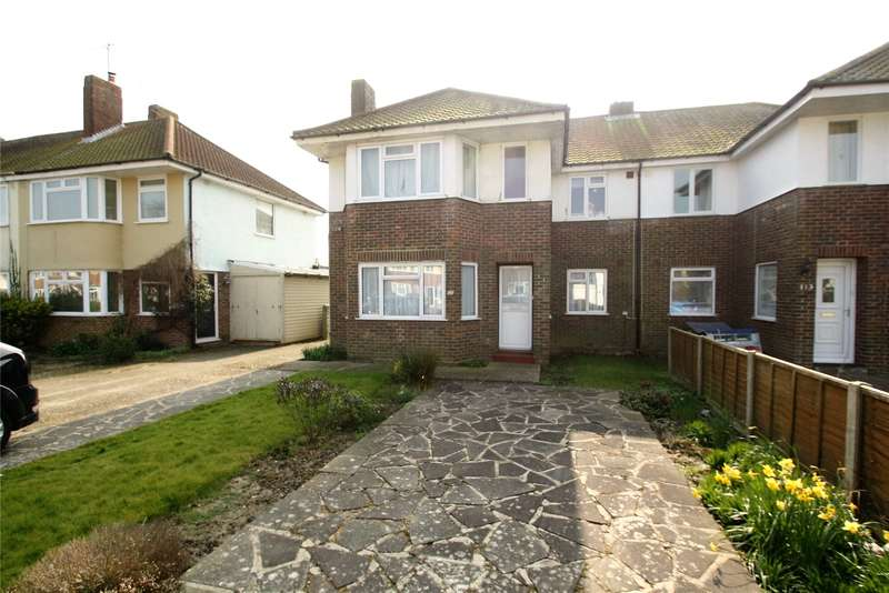 2 Bedrooms Apartment Flat for sale in Ardingly Drive, Goring-By-Sea, West Sussex, BN12