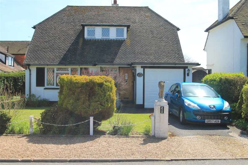 3 Bedrooms Detached Bungalow for sale in Broadmark Avenue, Rustington, West Sussex, BN16