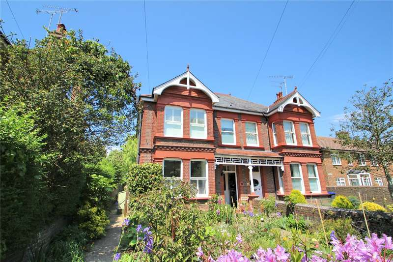 4 Bedrooms Semi Detached House for sale in Manor Road, Worthing, West Sussex, BN11