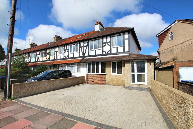 3 Bedrooms End Of Terrace House for sale in Downlands Avenue, Broadwater, Worthing, BN14