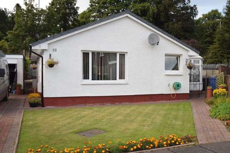 2 Bedrooms Detached Bungalow for sale in 1 Cardon Drive, Biggar, ML12 6EZ