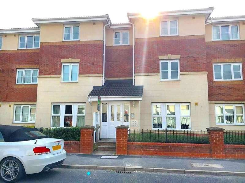 2 Bedrooms Flat for sale in BROOKSIDE, WEDNESBURY, WEST MIDLANDS, WS10 0QF