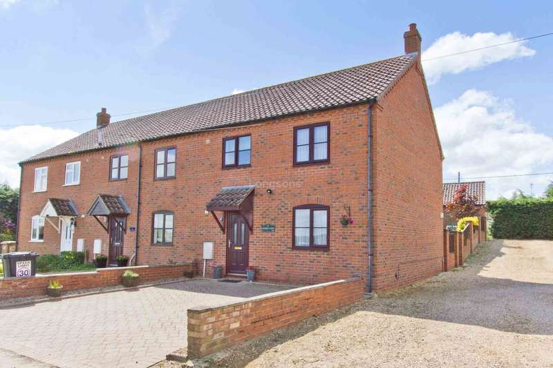 3 Bedrooms End Of Terrace House for sale in Church View, Pentney