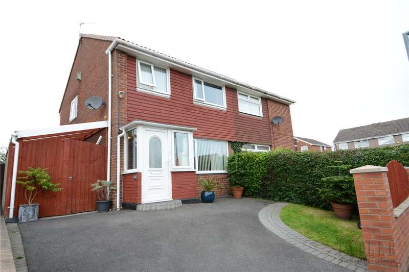 3 Bedrooms Semi Detached House for sale in Chatsworth Road, Irby, Wirral