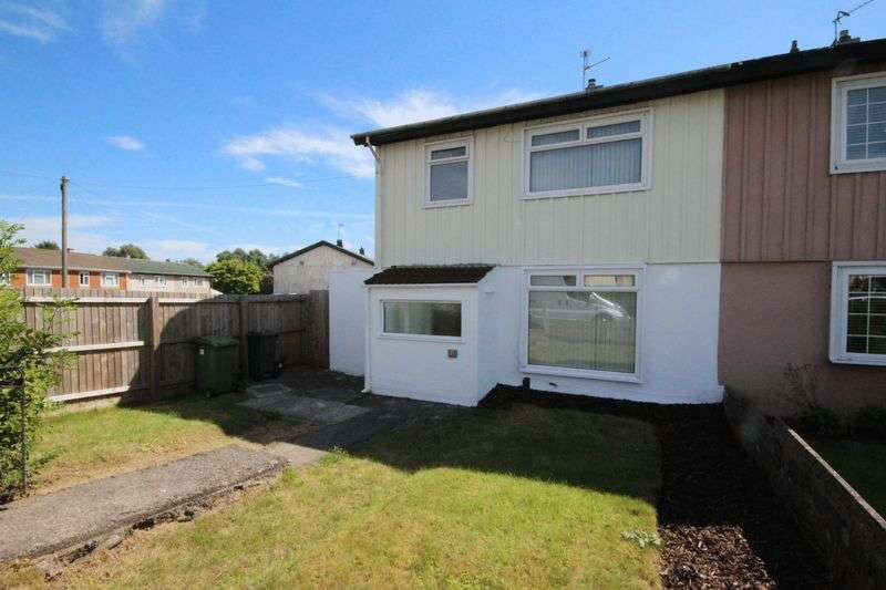 3 Bedrooms Semi Detached House for sale in Harlech Road, Rumney