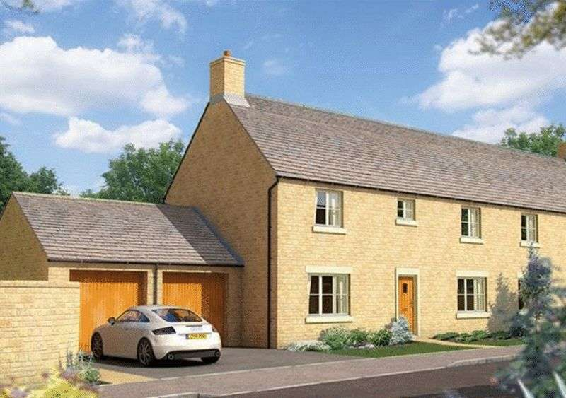 4 Bedrooms Semi Detached House for sale in Kemble, Cirencester