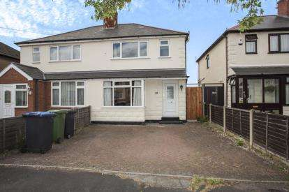 3 Bedrooms Semi Detached House for sale in Balcombe Road, Rugby, Warwickshire