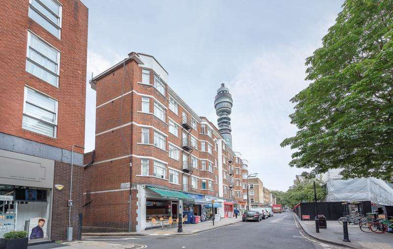 2 Bedrooms Apartment Flat for sale in Cleveland Court, London, W1T