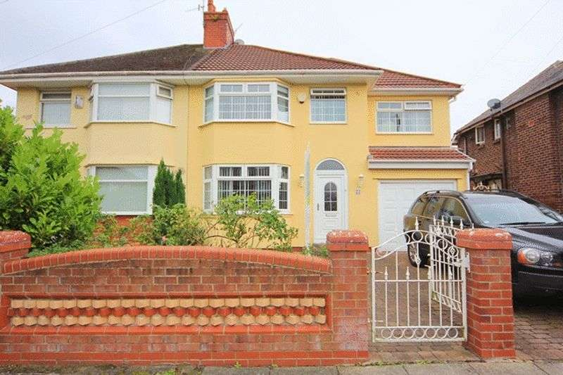4 Bedrooms Semi Detached House for sale in Riverbank Road, Grassendale, Liverpool, L19