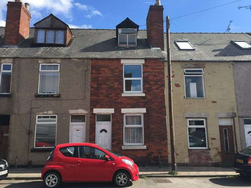 3 Bedrooms Terraced House for sale in Herbert Street, Mansfield