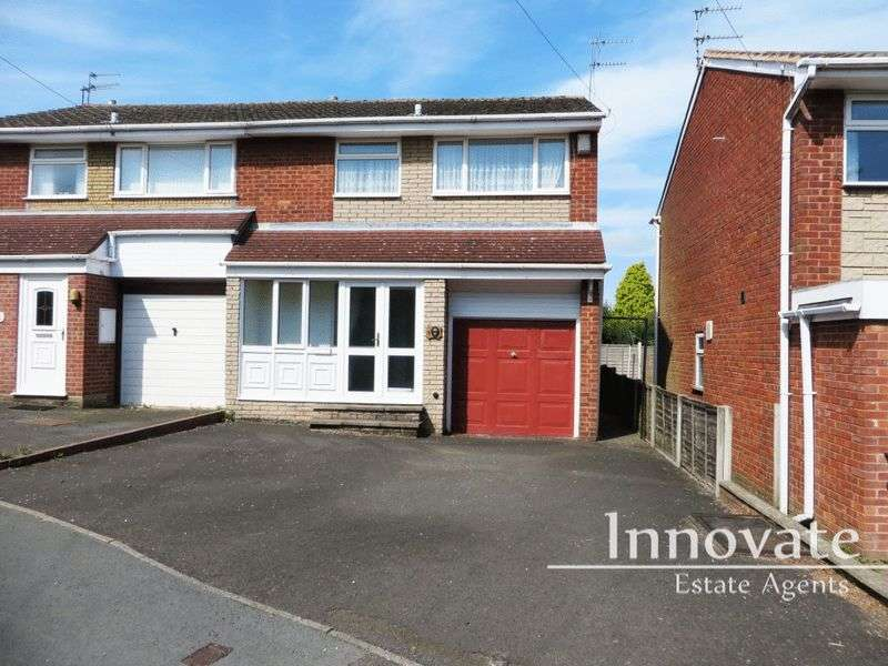 3 Bedrooms Semi Detached House for sale in Hilston Avenue, Halesowen