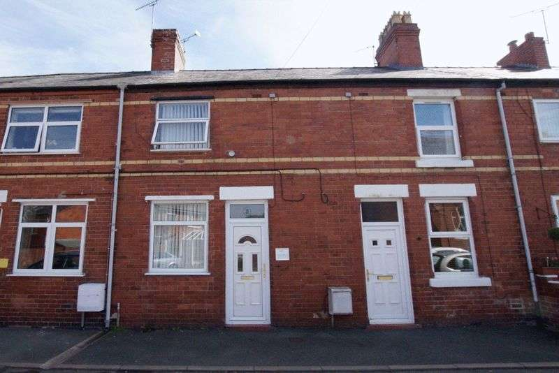 2 Bedrooms Terraced House for sale in Chapel Street, Johnstown, Wrexham