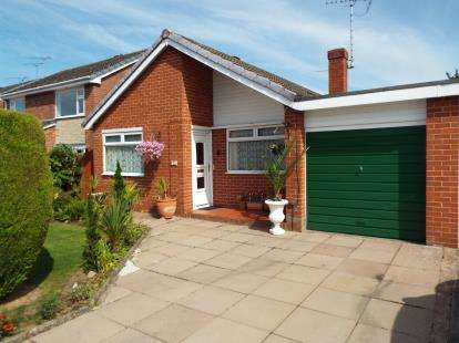 3 Bedrooms Bungalow for sale in Shannon Close, Willaston, Nantwich, Cheshire