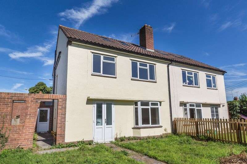 4 Bedrooms Semi Detached House for sale in Adderwell Road, Frome