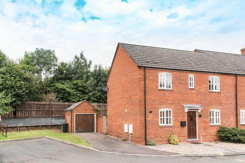 3 Bedrooms Semi Detached House for sale in John Lee Road, New Mills Estate, Ledbury, HR8 2FE