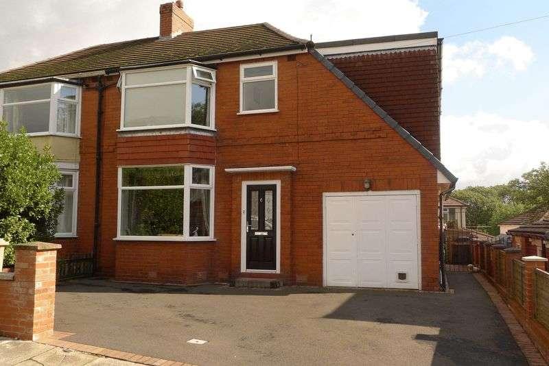 4 Bedrooms Semi Detached House for sale in Louvaine Avenue, Barrow Bridge, Bolton
