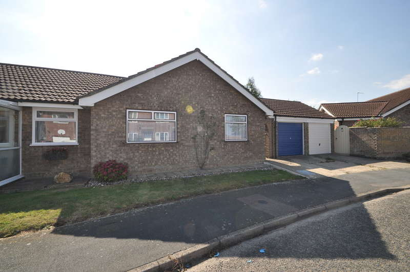 2 Bedrooms Semi Detached Bungalow for sale in Gainsborough Drive, Halesworth