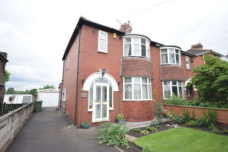 3 Bedrooms Semi Detached House for sale in Doncaster Road, Crofton, Wakefield