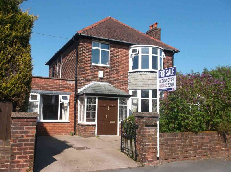 4 Bedrooms Detached House for sale in Springfield Road, Horwich