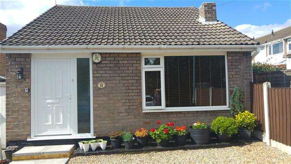 2 Bedrooms Bungalow for sale in Galena Drive, Thorneywood, Nottingham