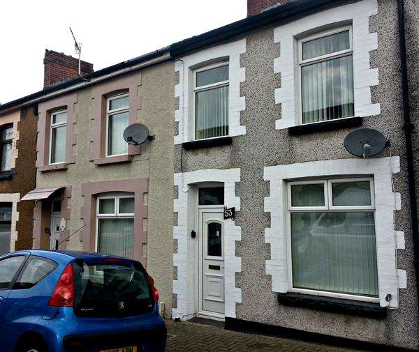 3 Bedrooms Terraced House for sale in Thurston Road, Pontypridd