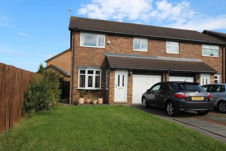 3 Bedrooms Semi Detached House for sale in Ingham Grove, Northburn Glade, Cramlington