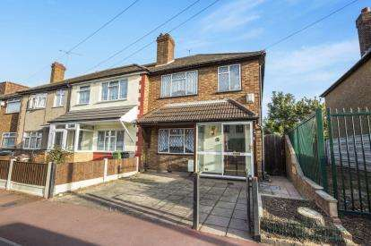 3 Bedrooms End Of Terrace House for sale in Dagenham, Essex